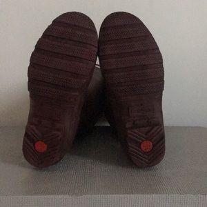 Hunter Shoes - HUNTER Burgundy Boots - Size 5